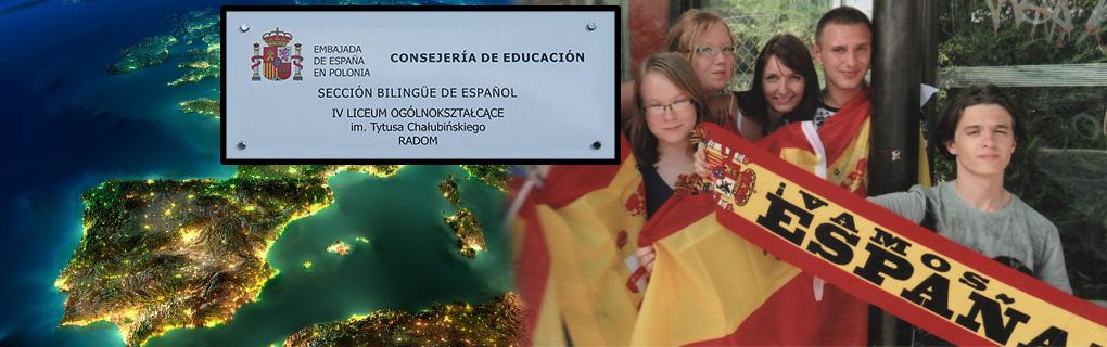 Nauka języka hiszpańskiego w ramach sekcji dwujęzycznej